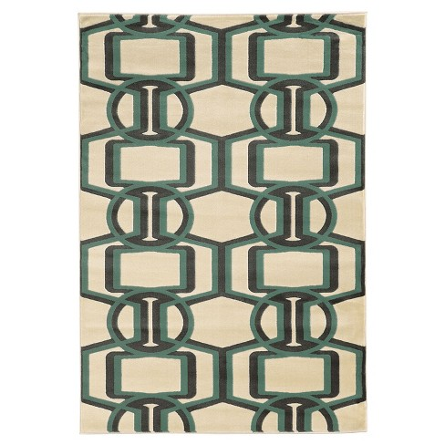Roma Bridle Accent Rug -  Turquoise (2' X 3') - image 1 of 1