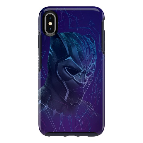 new arrivals 52b42 1c247 OtterBox Apple iPhone XS Max Marvel Symmetry Case - Black Panther