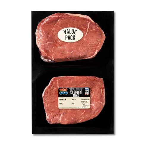 USDA Choice Top Sirloin Steak - 1.125lbs - priced per lb - image 1 of 2
