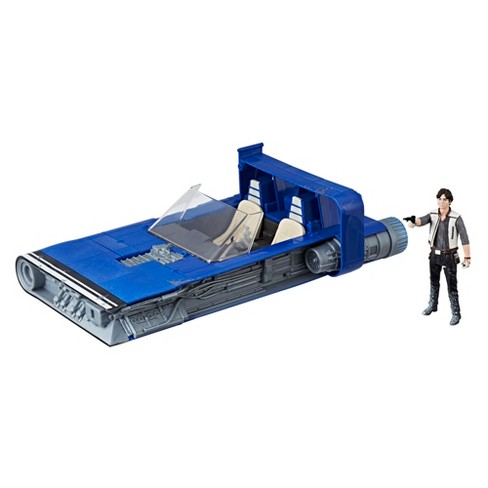 Star Wars Force Link 2.0 Han Solo Landspeeder and Figure - image 1 of 9