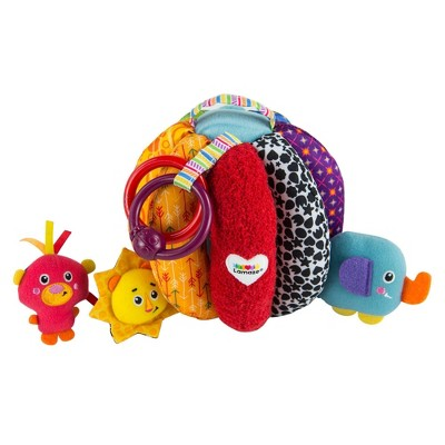 Lamaze Grab & Hide Ball Baby Toy