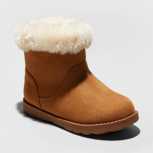 Toddler Girls' Oriole Shearling Boots - Cat & Jack™ - image 1 of 3