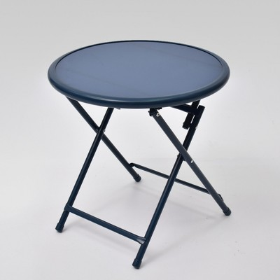 Fisher Folding Patio Bistro Table Blue - Project 62™