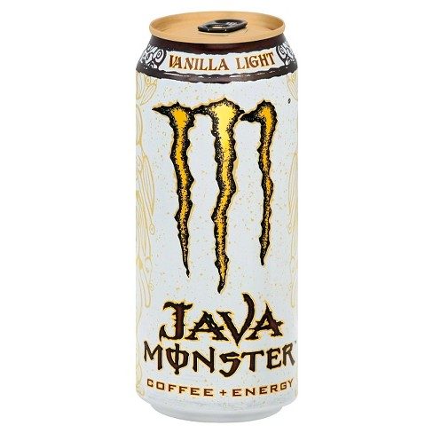 Monster Java, Vanilla Light Energy Drink - 15 fl oz Can