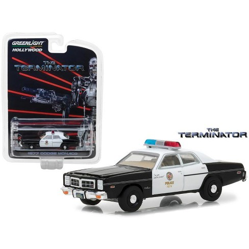 1977 Dodge Monaco The Terminator Movie (1984) Hollywood Series 19 1/64 Diecast Model Car by Greenlight - image 1 of 1