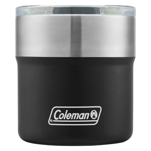 Coleman 13oz Sundowner Insulated Stainless Steel Rocks Glass - Black - image 1 of 4