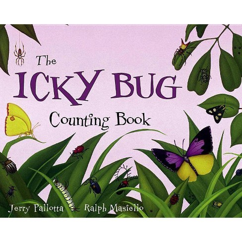 The Icky Bug Counting Board Book - (Jerry Pallotta's Counting Books) by  Jerry Pallotta (Board_book) - image 1 of 1