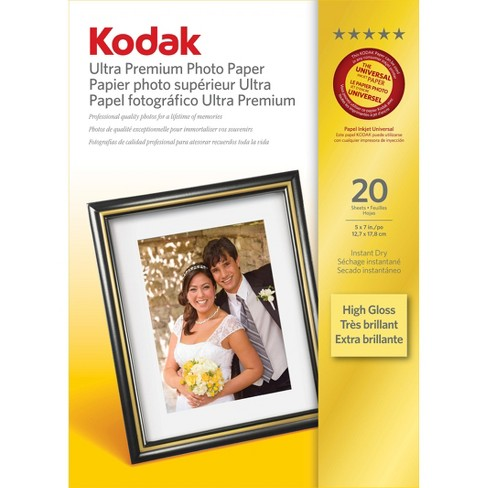 "Kodak Ultra Premium Photo Paper 5""x7"" 20-ct. - image 1 of 1"