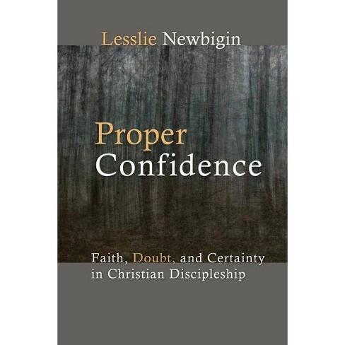 Proper Confidence - by  Lesslie Newbigin (Paperback) - image 1 of 1
