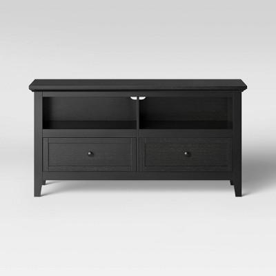 50  Carson TV Stand Black - Threshold™