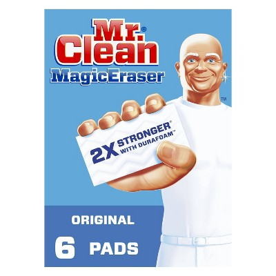 Mr. Clean Magic Eraser Original, Cleaning Pads with Durafoam - 6ct