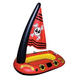Poolmaster Pirate Ship With Action Squirter Pool Float Target