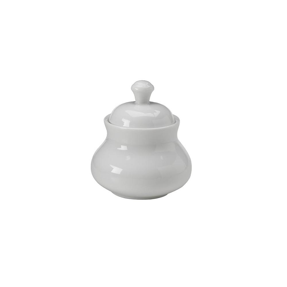 Image of Royal White Sugar Bowl, condiment servers