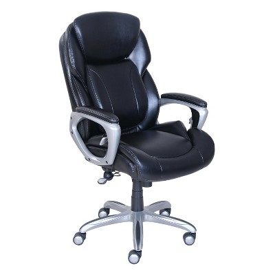 Bon My Fit Executive Office Chair With Tailored Reach   Black   Serta
