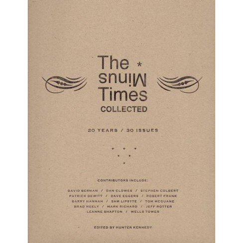 The Minus Times Collected - (Paperback) - image 1 of 1