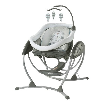 Graco DreamGlider Gliding Baby Swing and Sleeper - Bellevue