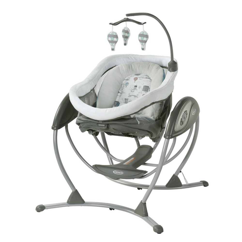 Graco DreamGlider Gliding Swing - Bellevue, Brown