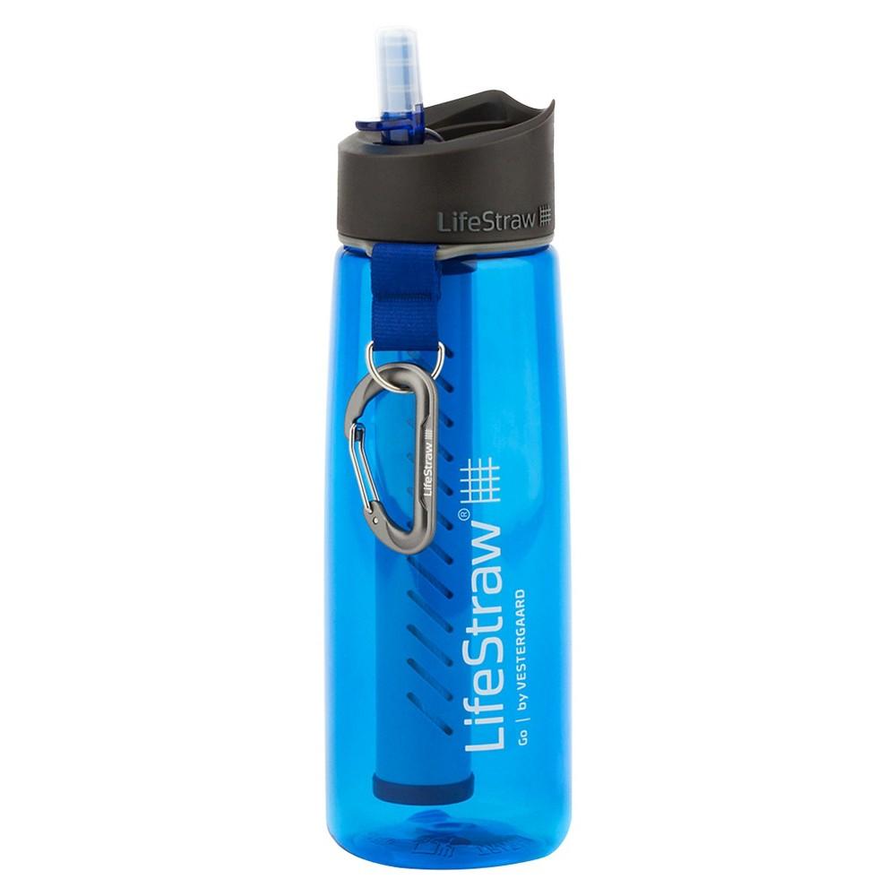 LifeStraw Go Filtration Water Bottle - Blue