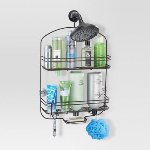 Bathroom Shower Caddy Bronze - Threshold™ : Target