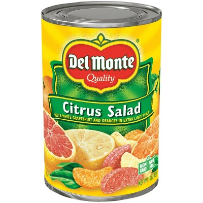 Del Monte Citrus Salad with Red & White Grapefruit Sections in Light Syrup 15oz