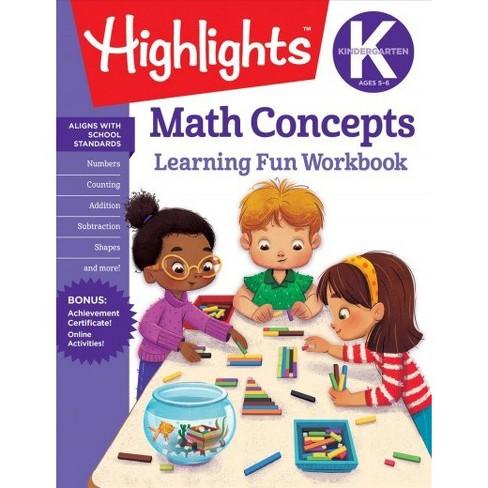 Kindergarten Math Concepts Highlights Learning Target