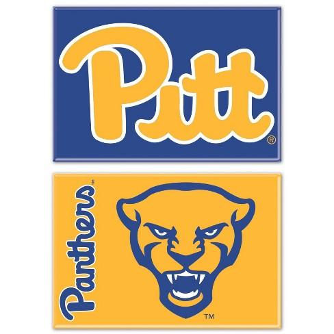 NCAA Pitt Panthers 2pk Fridge Magnet - image 1 of 1