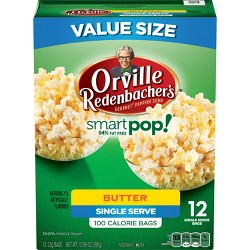 Orville Redenbacher's Smart Pop! Butter Popcorn Classic Bag - 13.96oz - 12ct