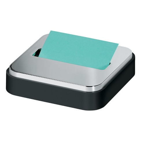 Post-it Pop-up Note Dispenser, Steel Top, Gray / White - image 1 of 4