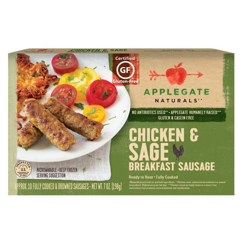 Applegate Farms Natural Chicken & Sage Breakfast Sausage - 7oz - image 1 of 1