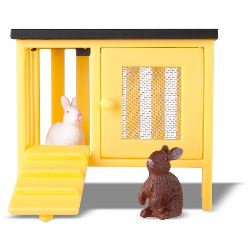 Lundby 2 Rabbits and Hutch - image 1 of 1