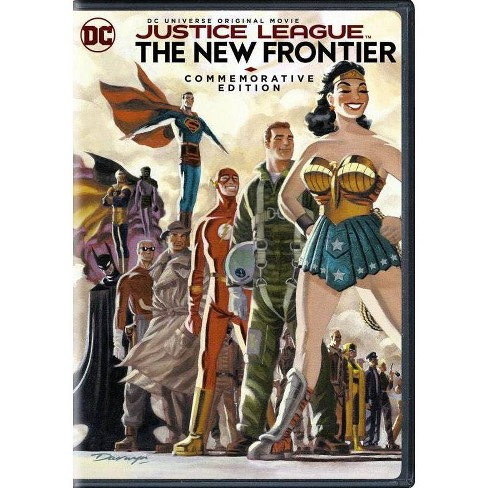 Justice League: New Frontier Commemorative Edition (DVD) - image 1 of 1
