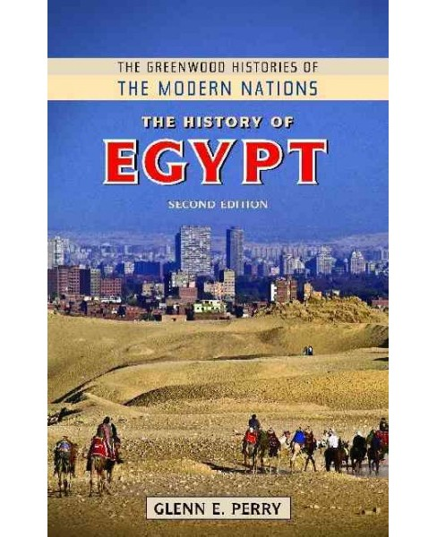 History of Egypt (Revised) (Hardcover) (Glenn E. Perry) - image 1 of 1