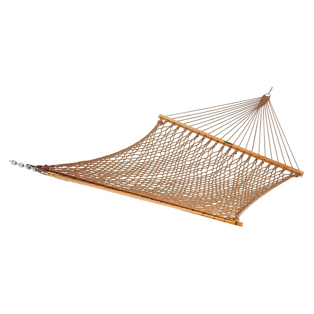 Image of Original Pawleys Island Large DuraCord Rope Hammock - Antique Brown