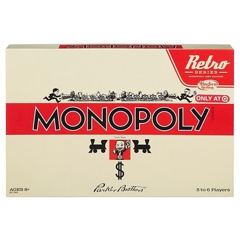 Monopoly Retro Edition Board Game