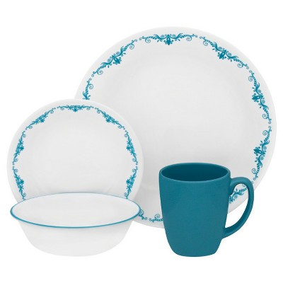 Corelle Livingware 16pc Dinnerware Set Garden Lace