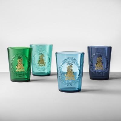 Plastic Tumblers 16oz Blue/Green Set of 4 - Opalhouse™
