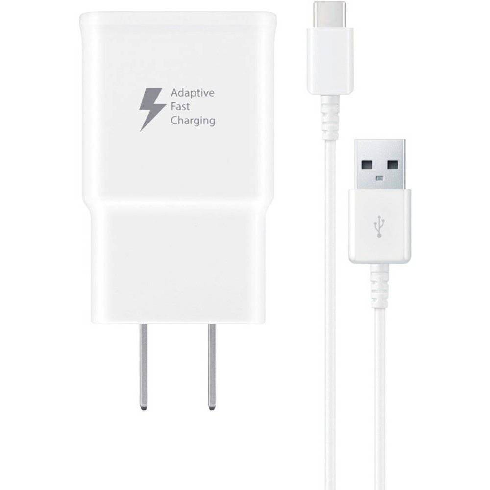 Samsung 15W Usb-C Fast Charging Travel Wall Charger (with Usb-C Cable) - White