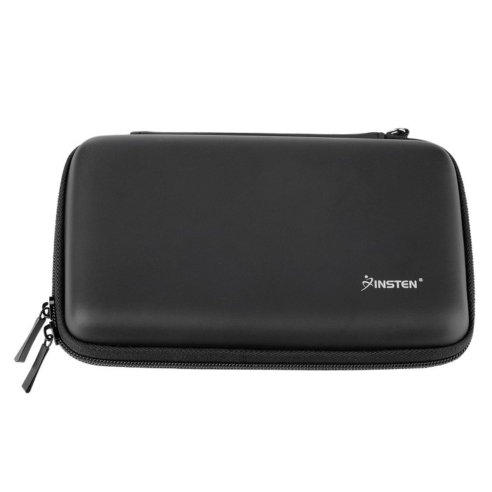 Insten Carrying Case EVA Hard Pouch With 4 Game Cartridge Holder Slot For Nintendo 2DS XL 3DS XL New 3DS XL : Target