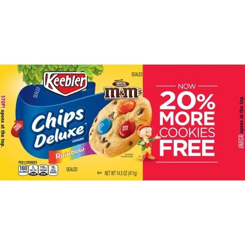 keebler chips deluxe rainbow cookies 14 5oz target