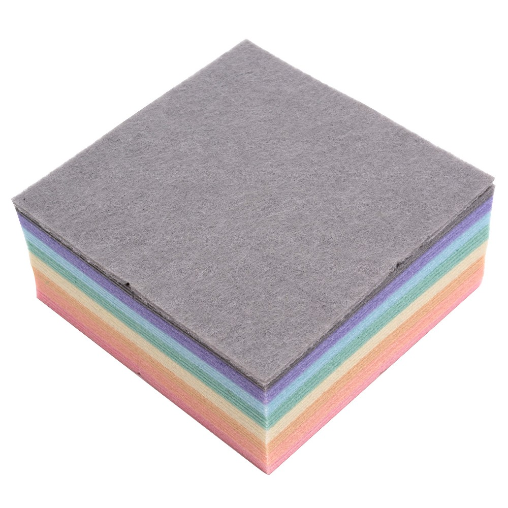 32ct Pastel Felt Squares - Hand Made Modern