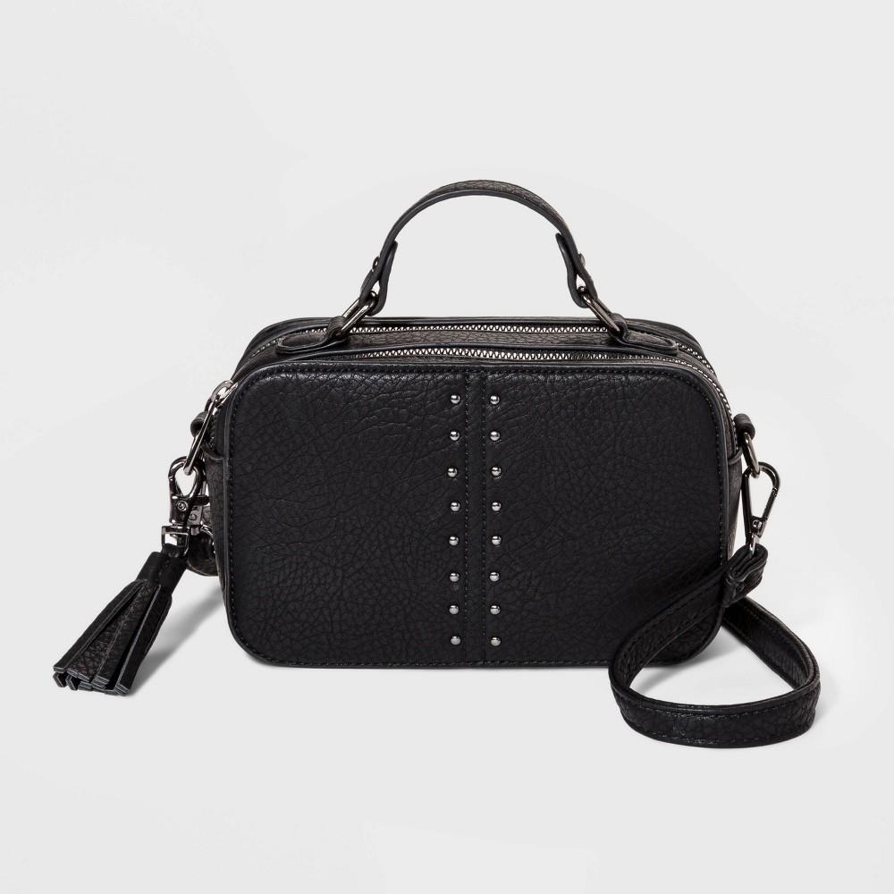 Image of Stella & Max Convertible Crossbody Bag - Black