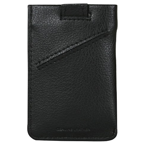 Men's Addison  Pull Tab Cash/Card Case - Black - image 1 of 2
