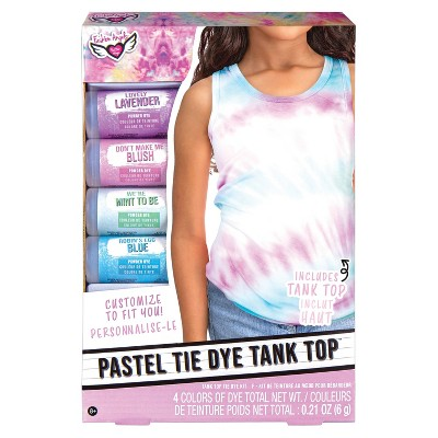 Pastel Tie Dye Tank Top Kit - Fashion Angels