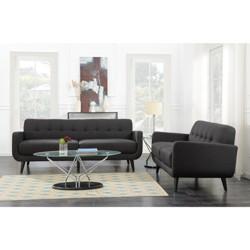Hailey Mid-Century Sofa & Loveseat Living Room Set - Picket House Furnishings