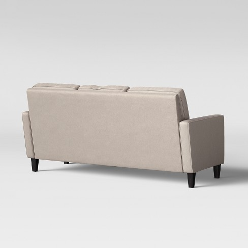 Elmhurst Loose Back Cushion Sofa With Reversible Chaise Beige Project 62