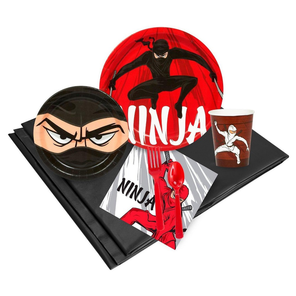 Ninja Warrior 24 Guest Red Party Pack