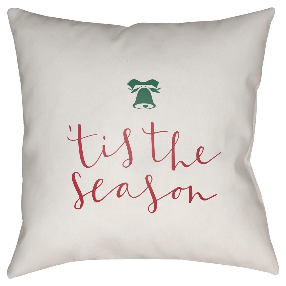 White Tis The Season Throw Pillow 20
