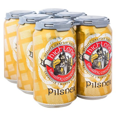Highland Pilsner Beer - 6pk/12 fl oz Cans