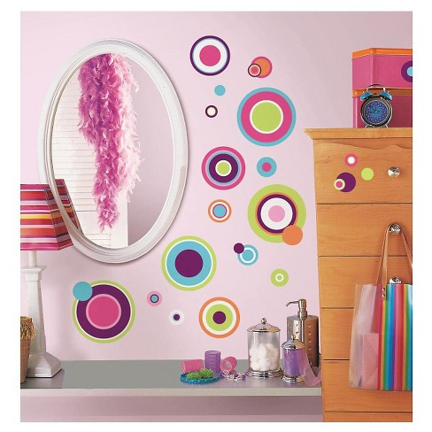 RoomMates Crazy Dots Peel & Stick Wall Decals - image 1 of 3