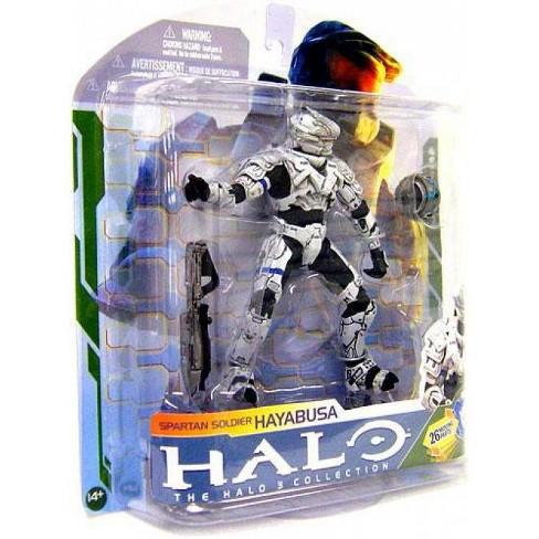 McFarlane Toys Halo 3 Series 5 Spartan Soldier Hayabusa Action Figure [White] - image 1 of 2